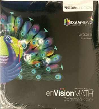 Sell, Buy or Rent EnVision MATH Common Core ExamView