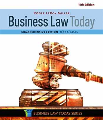 9781305575011-1305575016-Business Law Today, Comprehensive