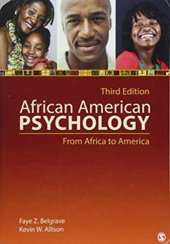 9781412999540-1412999545-African American Psychology: From Africa to America