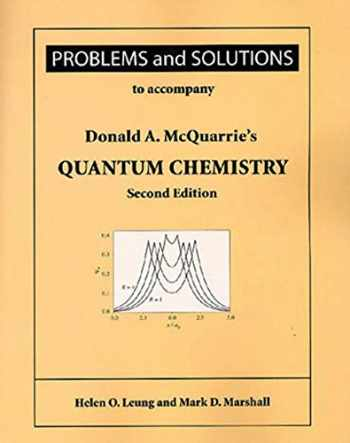 9781891389528-1891389521-Problems and Solutions for Mcquarrie's Quantum Chemistry