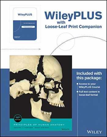 9781119328728-1119328721-Principles of Human Anatomy, 14th Edition WileyPLUS Registration Card + Loose-leaf Print Companion