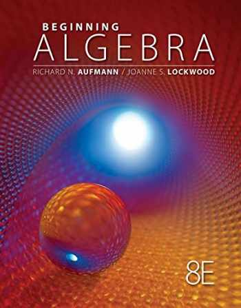 Beginning Algebra, 8th Edition (Textbooks Available with Cengage Youbook)