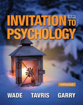 9780205990290-0205990290-Invitation to Psychology (6th Edition)