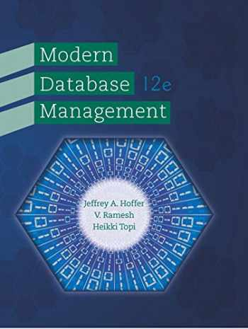 Modern Database Management (12th Edition)