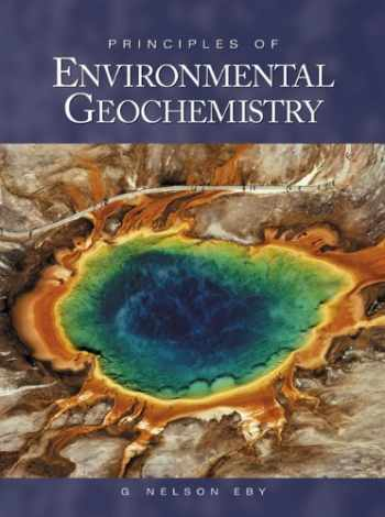 9780122290619-0122290615-Principles of Environmental Geochemistry