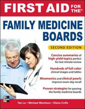 9780071737265-007173726X-First Aid for the Family Medicine Boards, Second Edition (First Aid Specialty Boards)