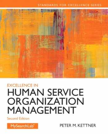 9780205088157-0205088155-Excellence in Human Service Organization Management (2nd Edition) (Standards for Excellence Series)