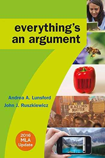 9781319085759-131908575X-Everything's an Argument with 2016 MLA Update