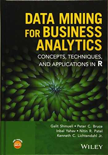 9781118879368-1118879368-Data Mining for Business Intelligence: Concepts, Techniques, and Applications in R
