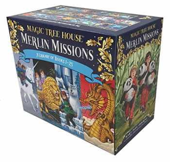 9781524765248-1524765244-Magic Tree House Merlin Missions #1-25 Boxed Set (Magic Tree House (R) Merlin Mission)