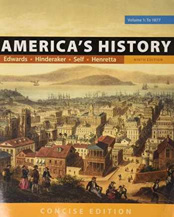 9781319060589-1319060587-America's History: Concise Edition, Volume 1