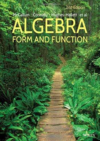 9781118449196-1118449193-Algebra: Form and Function