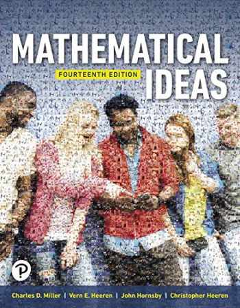 9780134995588-0134995589-Mathematical Ideas (14th Edition)