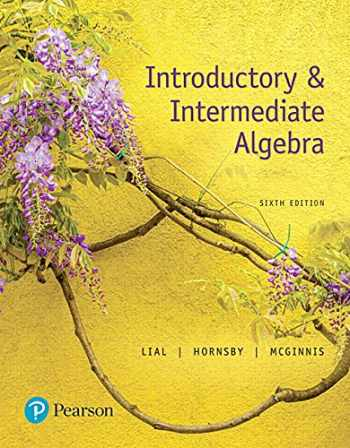 9780134493756-0134493753-Introductory & Intermediate Algebra