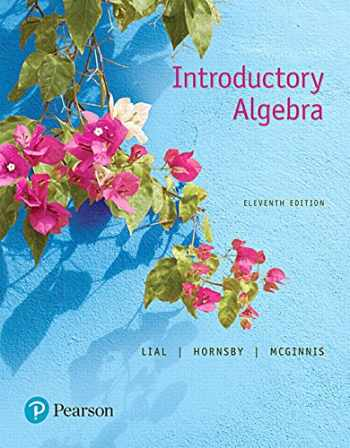 9780134474083-0134474082-Introductory Algebra (11th Edition)