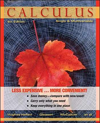9781118231142-1118231147-Calculus: Single and Multivariable