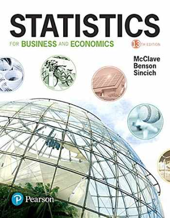 Statistics for Business and Economics Plus MyStatLab with Pearson eText -- Title-Specific Access Card Package (13th Edition)
