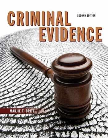 9780133598339-0133598330-Criminal Evidence