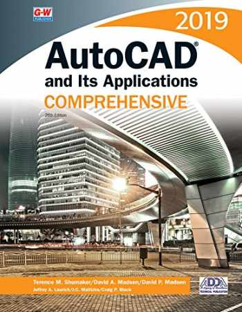 9781635634624-1635634628-AutoCAD and Its Applications Comprehensive 2019