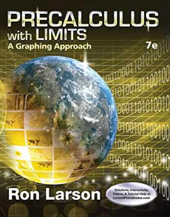 9781305071711-1305071719-Precalculus with Limits: A Graphing Approach