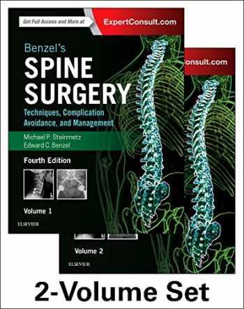 9780323400305-0323400302-Benzel's Spine Surgery, 2-Volume Set: Techniques, Complication Avoidance and Management