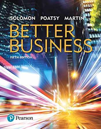 9780134641836-0134641833-Better Business Plus MyBizLab with Pearson eText -- Access Card Package (5th Edition)