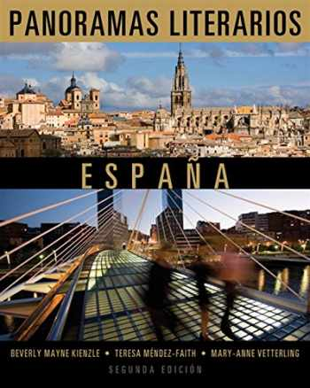 9781111839147-111183914X-Panoramas literarios: Espana (World Languages)