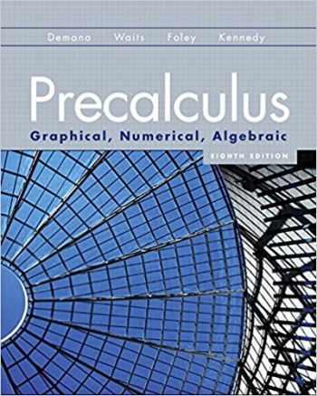 9780131369061-0131369067-Precalculus: Graphical, Numerical, Algebraic (8th Edition)