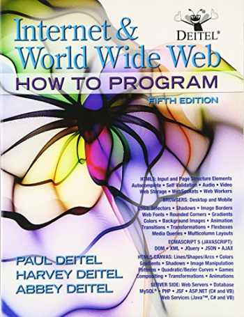 9780132151009-0132151006-Internet and World Wide Web How To Program (5th Edition)