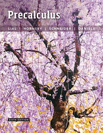 9780134309040-0134309049-Precalculus plus MyLab Math with Pearson eText -- 24-Month Access Card Package (6th Edition)