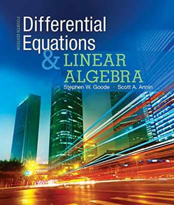 9780321964670-0321964675-Differential Equations and Linear Algebra (4th Edition)