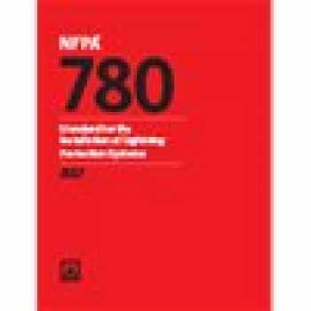 9781455914210-1455914215-NFPA 780: Standard for the Installation of Lightning Protection Systems (2017 Edition Paperback)
