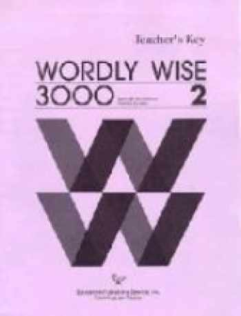 9780838824429-0838824420-Wordly Wise 3000, Book 2: Answer Key
