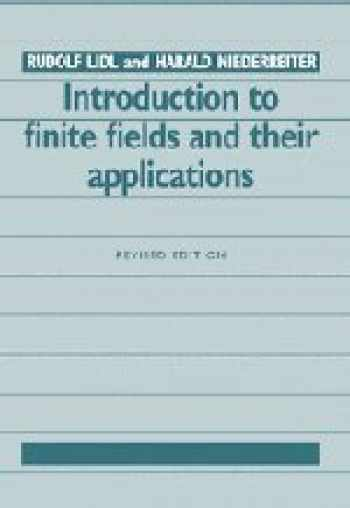 9780521460941-0521460948-Introduction to Finite Fields and their Applications
