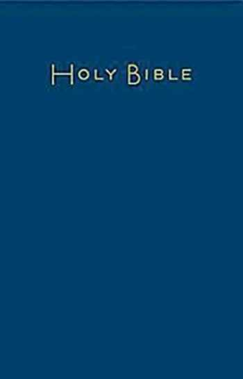 9781609260712-1609260716-CEB Common English Large Print Pew Bible, Navy