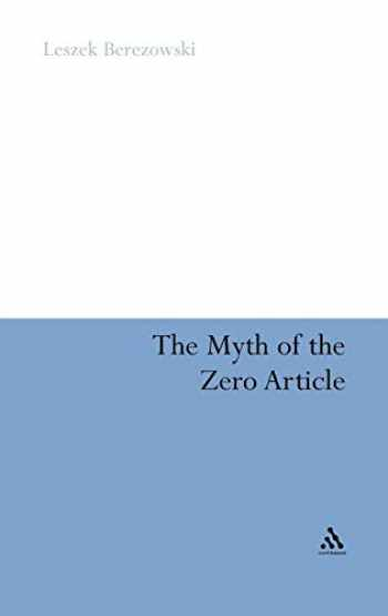 9781441185136-1441185135-The Myth of the Zero Article