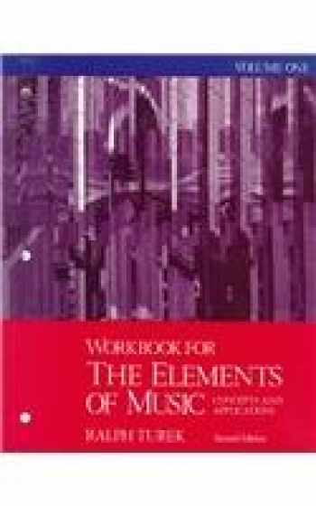 9780070654938-007065493X-Workbook for the Elements of Music: Concepts and Applications, Vol. 1