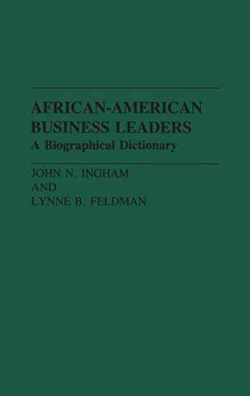9780313272530-0313272530-African-American Business Leaders: A Biographical Dictionary