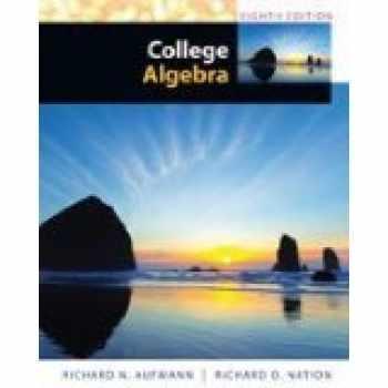 9781305259072-1305259076-College Algebra, 8th Edition