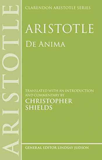 9780199243457-019924345X-Aristotle: De Anima (Clarendon Aristotle Series)