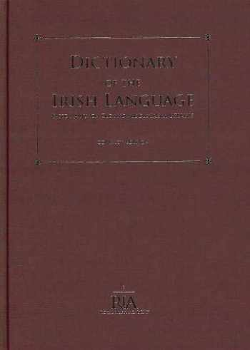 9780901714299-0901714291-Dictionary of the Irish Language: Based Mainly on Old and Middle Irish Materials - Compact Edition