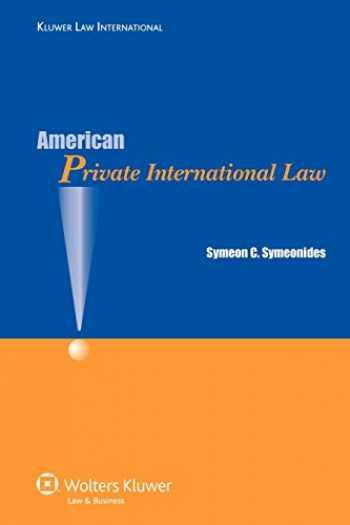 9789041127426-9041127429-American Private International Law