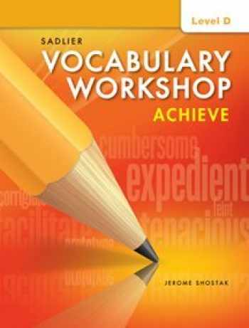 9781421785097-1421785099-Vocabulary Workshop Achieve Level D Grade 9