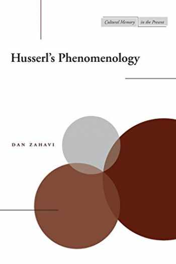 9780804745468-0804745463-Husserl's Phenomenology (Cultural Memory in the Present)