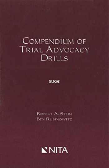 9781556819612-1556819617-Compendium of Trial Advocacy Drills (NITA)