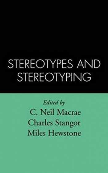 9781572300538-1572300531-Stereotypes and Stereotyping