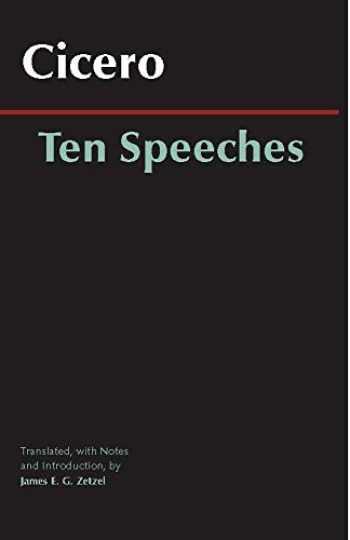 9780872209893-087220989X-Ten Speeches (Hackett Classics)