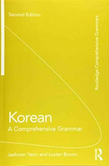 9781138064492-1138064491-Korean (Routledge Comprehensive Grammars)