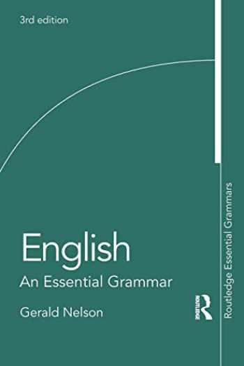 9780815358305-081535830X-English: An Essential Grammar (Routledge Essential Grammars)