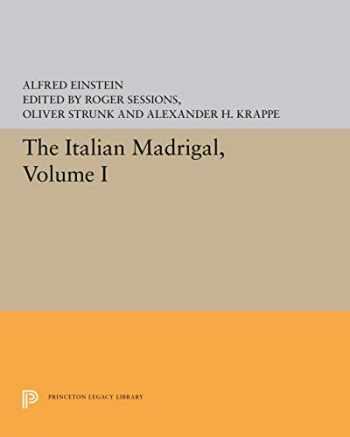 9780691091129-0691091129-The Italian Madrigal (3 Volumes Set)